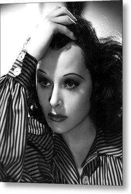 Hedy Lamarr, 1939, Photo By Clarence Metal Print by Everett