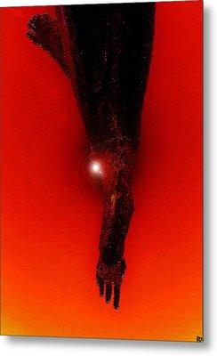 Hell Fall Metal Print by David Lee Thompson