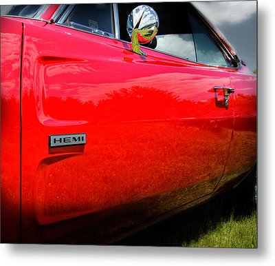 Hemi Charger Metal Print by Thomas Schoeller