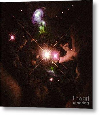 Herbig-haro 32 Metal Print by Space Telescope Science Institute / NASA