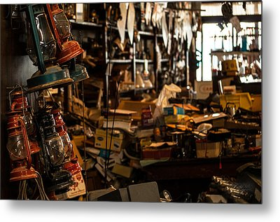 Hidden Treasures Metal Print by Melissa Wyatt
