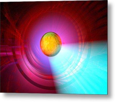Higgs Boson Particle, Artwork Metal Print by Laguna Design