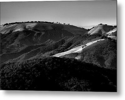 Hills Of Light And Darkness II Metal Print by Steven Ainsworth