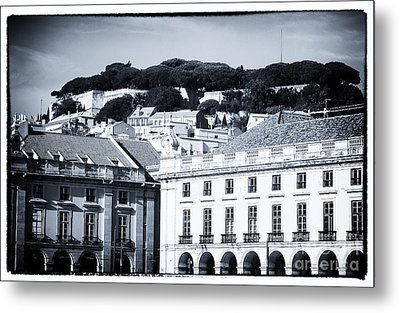 Hills Of Lisbon Metal Print by John Rizzuto