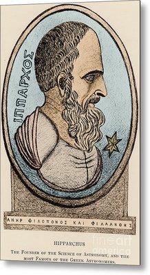 Hipparchus, Greek Astronomer Metal Print by Photo Researchers, Inc.