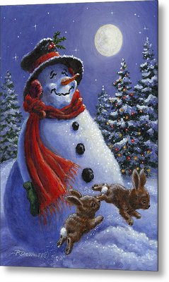 Holiday Magic Metal Print by Richard De Wolfe