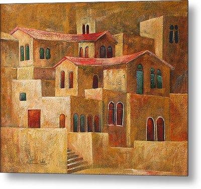 Homes Metal Print by Adeeb Atwan