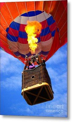 Hot Air Balloon Metal Print by Carlos Caetano