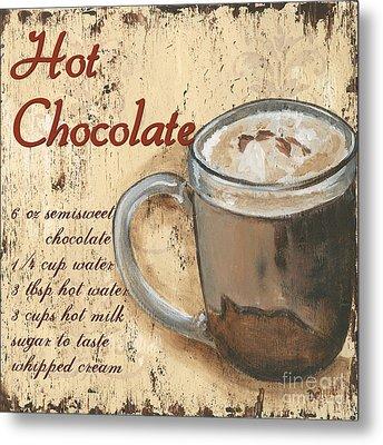 Hot Chocolate Metal Print by Debbie DeWitt