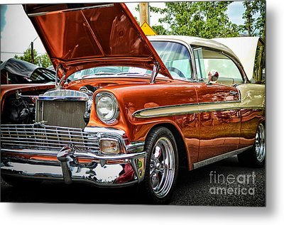 Hot Rod Metal Print by Tamera James
