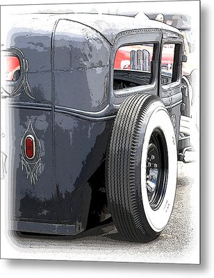 Hot Rods Forever Metal Print by Steve McKinzie