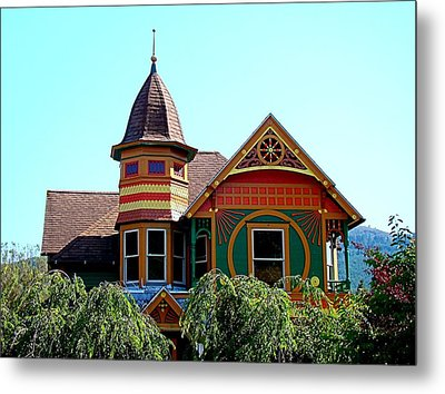 House Of Many Colors Metal Print by Nick Kloepping
