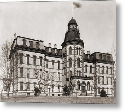 Howard University Was Founded In 1867 Metal Print by Everett