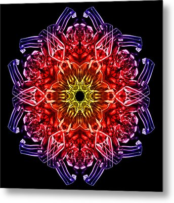 Humandala 2 Metal Print by David Kleinsasser
