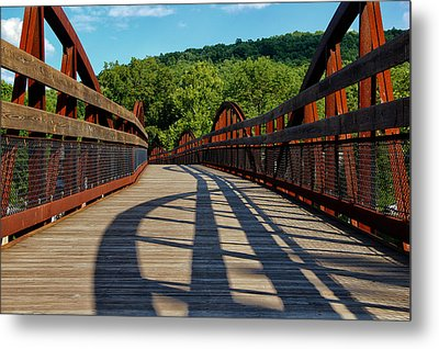 Humps And Shadows Metal Print by Rachel Cohen