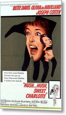 Hush...hush, Sweet Charlotte, Center Metal Print by Everett