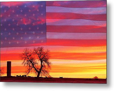 I Am Thankful To Be An American Metal Print by James BO  Insogna