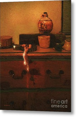 I Do Love Pearls Metal Print by RC deWinter