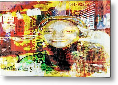 I Loved I Paid  Metal Print by Fania Simon