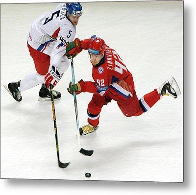 Ice Hockey Metal Print by Ria Novosti