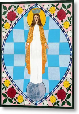 Icon Of The Immaculate Conception Metal Print by David Raber