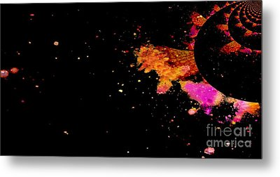 Illusion - A Planet Where Everyone Is From Kings And Queens Metal Print by Fania Simon