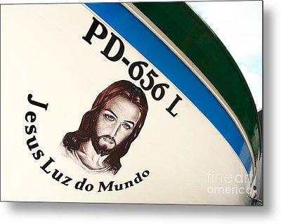 Image Of Jesus Metal Print by Gaspar Avila