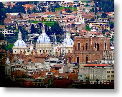 Immaculate Conception Domes II Metal Print by Al Bourassa
