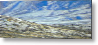 Impression Of Wyoming Metal Print by Lenore Senior