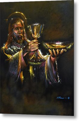 In Remembrance Of Me Ll Metal Print by Tommy  Winn