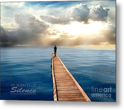 In Search Of Silence  Metal Print by Eugene James