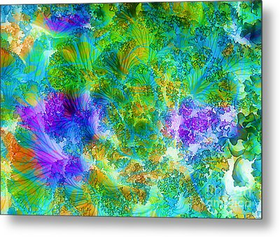 In The Cabbage Patch Metal Print by Judi Bagwell