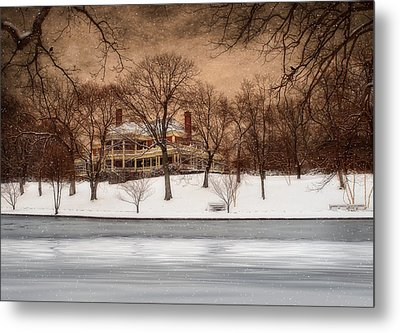 In The Midst Of Winter Metal Print by Robin-lee Vieira