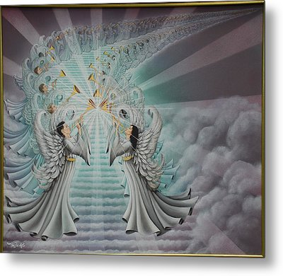 In The Twinkling Of An Eye Metal Print by Ruth Gee
