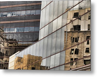 In The Windows Metal Print by Juanita L Ruffner