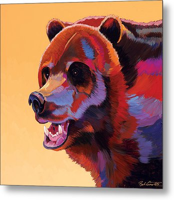 In Your Face Metal Print by Bob Coonts