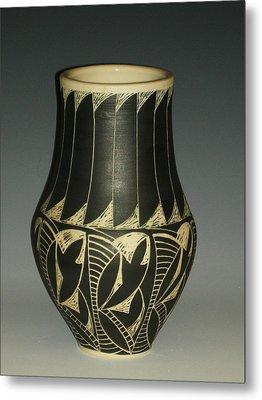 Indian Vase Metal Print by Ken McCollum