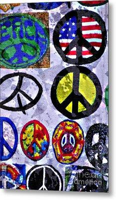 Inner Peace Metal Print by Juls Adams