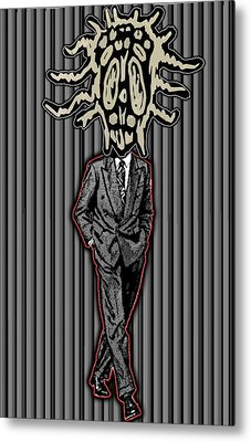 Insectoid Fashion 2 Metal Print by Travis Burns