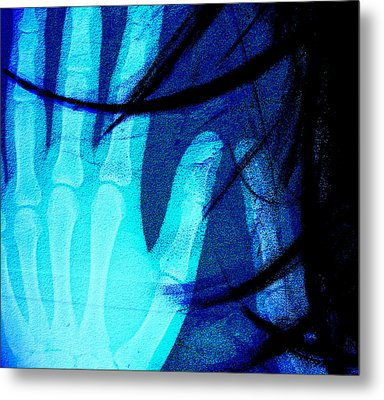 Inside My Hands U Love Metal Print by JC Photography and Art