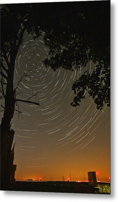 Into The Night Metal Print by Jim Finch