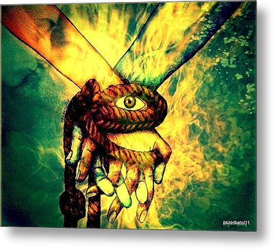 Involvement Common Of The Ideas And Goals Metal Print by Paulo Zerbato