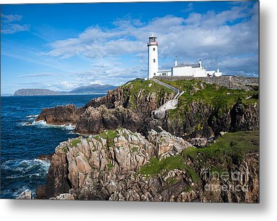 Irish Lighthouse Metal Print by Andrew  Michael