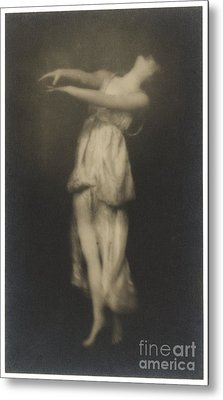 Irma Duncan Metal Print by Arnold Genthe