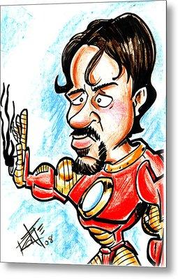 Ironman Metal Print by Big Mike Roate