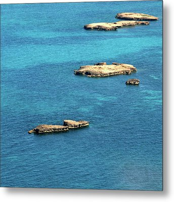 Islets Islands Metal Print by Judy Dunlop