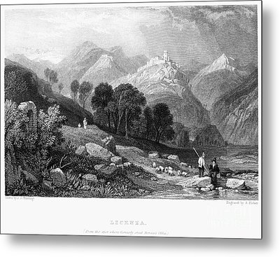 Italy: Licenza, 1833 Metal Print by Granger