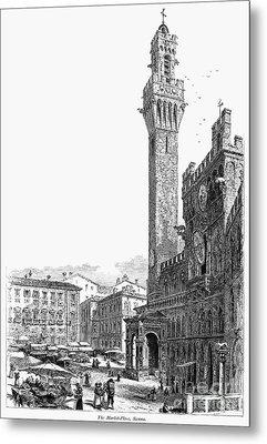 Italy: Siena, 19th Century Metal Print by Granger