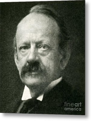 J. J. Thomson, English Physicist Metal Print by Science Source