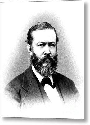 J. J. Woodward, American Pioneer Metal Print by Science Source
